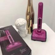 Щипцы-утюжок для завивки волос беспроводные Silver crest Portable hair curler (Розовый)