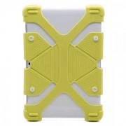 Универсальный силиконовый чехол для планшета с диагональю 9, 10, 11 дюймов (Желтый)