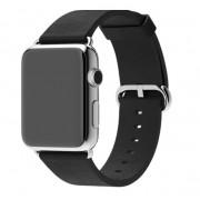 Ремешок для Apple Watch натуральная кожа 38 (Черный)