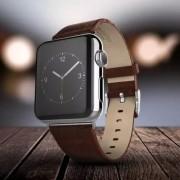 Ремешок для Apple Watch натуральная кожа 38 (Коричневый)
