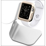 Подставка для часов Apple Watch, алюминий (Серебристый)