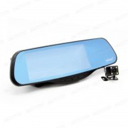 Автомобильный видеорегистратор-зеркало с радаром GPS и 2-я камерами Eplutus GR-50 (Черный)