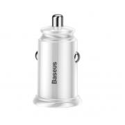 Автомобильное зарядное устройство Baseus Circular Plastic A+C 30W PPS Car Charger CCALL-YS02 (Белый)