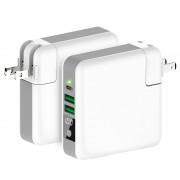 Беспроводная зарядка Super Charger Global Travel Qi Wireless Power Bank 6700mAh (Белый)