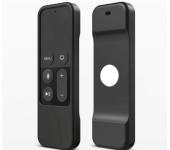 Силиконовый защитный чехол для пульта apple tv (Черный)