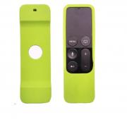 Силиконовый защитный чехол для пульта apple tv (Желтый)