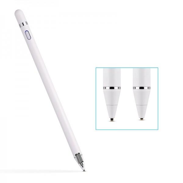 Стилус-карандаш для смартфонов и планшетов Smart Pencil (Белый)