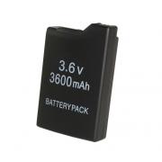 Аккумулятор для игровой приставки PSP 1000 FAT Replacement Battery Pack 3.6v 3600 mAh (Черный)
