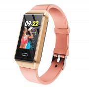 Фитнес-браслет X9 с цветным дисплеем (Розовый)