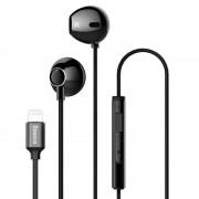 Вакуумные наушники Baseus P06 Lightning Digital Earphone NGP06-01 (Черный)