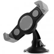 Универсальный автомобильный держатель для планшета и навигатора C-1003 (Чёрный)