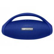 Мощная портативная колонка с ручкой Mega Big Bass Hopestar H31 (Синий)