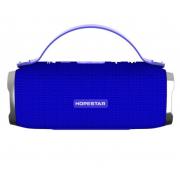 Портативная акустическая Bluetooth колонка Hopestar H24 (Синий)