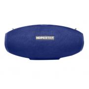 Портативная акустическая Bluetooth колонка Hopestar H25 (Синий)