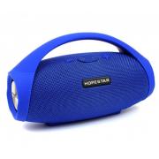 Портативная акустическая Bluetooth колонка Hopestar H32 (Синий)