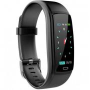 Водонепроницаемый смарт-браслет часы Y9 (Черный)