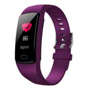 Водонепроницаемый смарт-браслет часы Y9 (Фиолетовый)