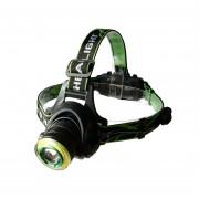 Налобный фонарь HL-T107 T6 (Зеленый)