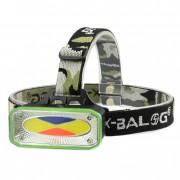 Налобный светодиодный фонарик BL-961 (Черный с зеленым)