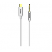 Аудиокабель Baseus Yiven M01 Type-C to 3.5mm 120 см CAM01-02 (Белый)