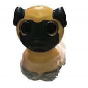 Антистрессовая игрушка сквиши Бульдог мягкий гибкий (Желтый)