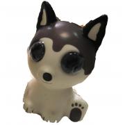 Антистрессовая игрушка сквиши Собака мягкий гибкий (Бежевый)