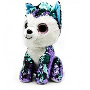 Мягкая игрушка Ty Beanie Щенок (Фиолетовый)