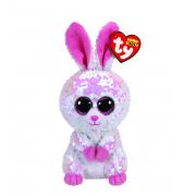 Мягкая игрушка Ty Beanie Зайка (Розовый)