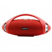 Портативная акустическая стерео колонка Hopestar H37 (Красный)