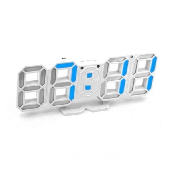 Электронные настольные часы VST 883-7 (Голубой)