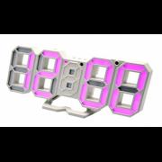 Электронные настольные часы VST 883-7 (Розовый)