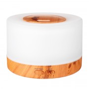 Ультразвуковой увлажнитель воздуха 500 мл с LED подсветкой 7 цветов аромадиффузор (Светлое дерево)