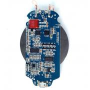 Беспроводное зарядное устройство Qi Wireless DIY Micro USB для встраивания в мебель (Синий)