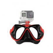 Очки GoPro для съемок под водой с креплением (Красный)