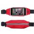 Сумка чехол на пояс для смартфона (Красный)