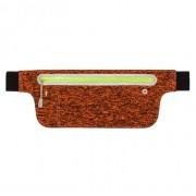 Сумка чехол на пояс для смартфона плотный материал для спорта (Красный)