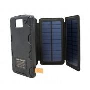 Внешний аккумулятор Power Bank с беспроводной зарядкой Qi (Черный)