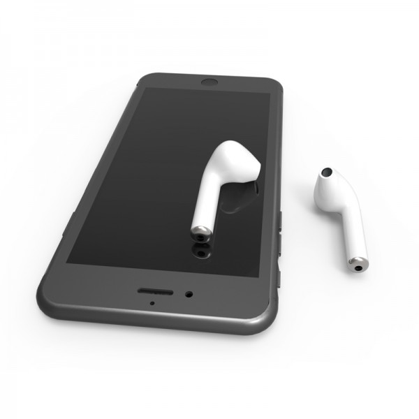 Беспроводные наушники Bluetooth гарнитурa HBQ I7 TWS (Белый)