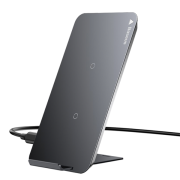 Беспроводная зарядка Baseus Wireless Charging Desktop Double Coil WXHSD-01 (Черный)