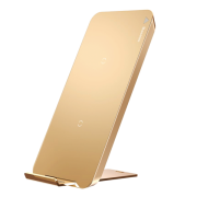 Беспроводная зарядка Baseus Qi Wireless Charging Desktop Double Coil WXHSD-0V (Золотой)