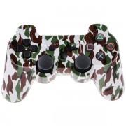 Беспроводной Bluetooth контроллер для DualShock 3 для PlayStation 3 (Белый камуфляж)
