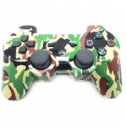 Беспроводной Bluetooth контроллер для DualShock 3 для PlayStation 3 (Зеленый камуфляж)