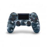 Беспроводной Bluetooth джойстик в стиле DualShock 4 для PlayStation 4 (Синий камуфляж)