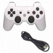 Беспроводной Bluetooth контроллер для DualShock 3 для PlayStation 3 (Белый)