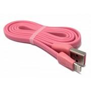 Кабель USB Remax Martin Lighting RC-028i (Розовый)