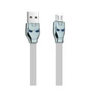 Кабель Hoco U14 Steel man Charging Cable Premium Micro USB (Серый)