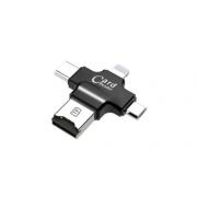 Кардридер переходник адаптер мини 4 в 1 для iphone Card Reader
