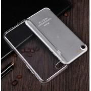 Силиконовый чехол задняя накладка на Apple iPhone 7 iPhone 8 (Прозрачный)
