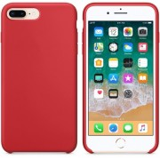 Чехол-накладка для Apple Silicone Case для iPhone 8 Plus iPhone 7 plus (красный)