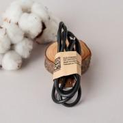 USB кабель с функцией заряда micro USB (Черный)